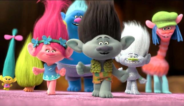 I protagonisti di Trolls
