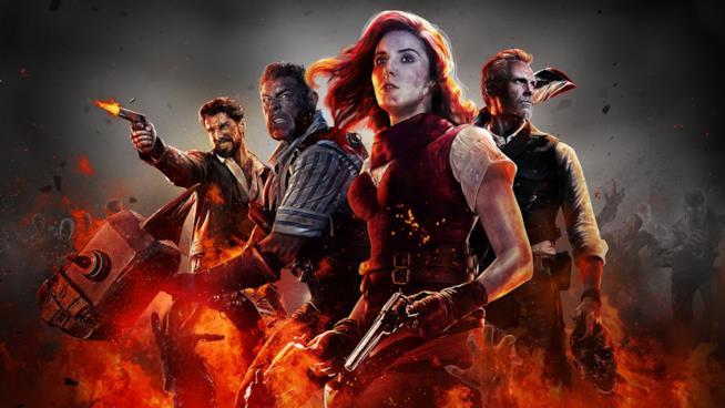 I quattro protagonisti della modalità Zombie di Call of Duty: Black Ops 4