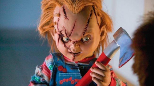 Chucky in uno dei film della saga