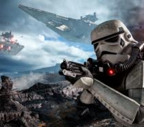 Stormtrooper in azione in Star Wars Battlefront