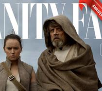 Rey e Luke Skywalker sulla copertina di Vanity Fair