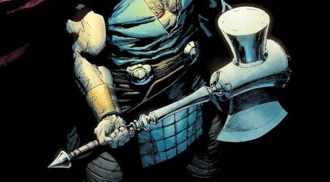 Thor solleva Ultimate Mjolnir