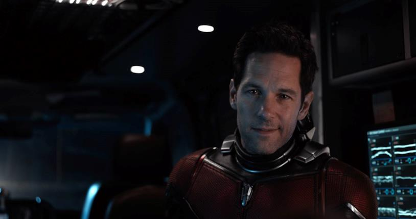 Paul Rudd nei panni di Scott Lang in Ant-Man and the Wasp