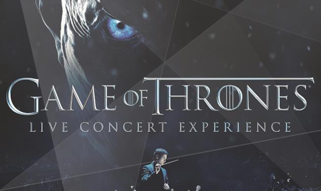 Un'orchestra sinfonica e le migliori tecnologie per il concerto evento dedicato a Game of Thrones