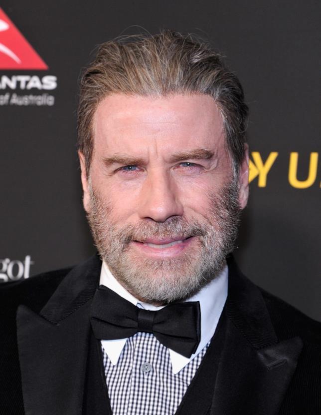 John Travolta in una foto recente