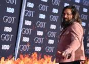 Jason Momoa alla prima di GoT 8 a New York