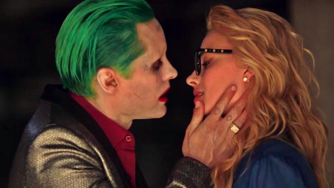 Joker e Harley Quinn in una scena dalla versione estesa del film