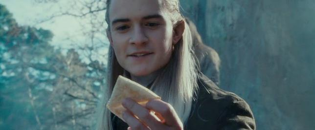 Legolas è un elfo della Compagnia dell'Anello