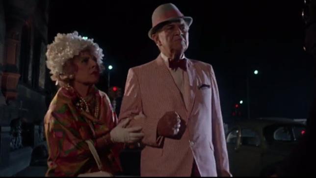 Ruth Gordon e Sidney Blackmer interpretano i coniugi Castevet