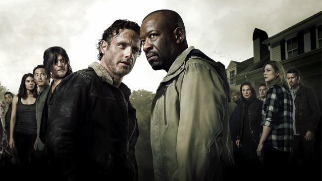 I protagonisti della sesta stagione di The Walking Dead