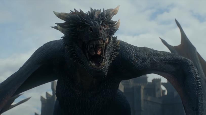 Drogon in Game of Thrones 8x06