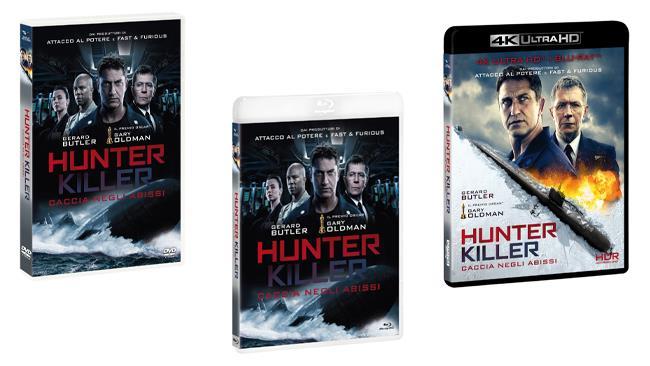 Hunter Killer - Caccia negli abissi - Home Video - DVD - Blu-ray - 4K