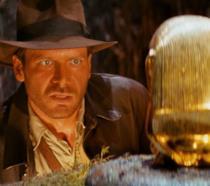 Indiana Jones con l'idolo d'oro visto nel primo film