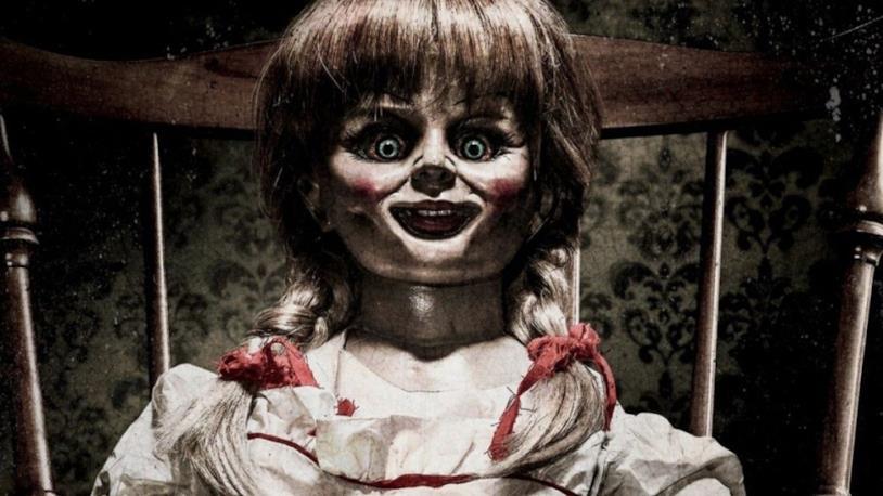 La bambola Annabelle della saga cinematografica
