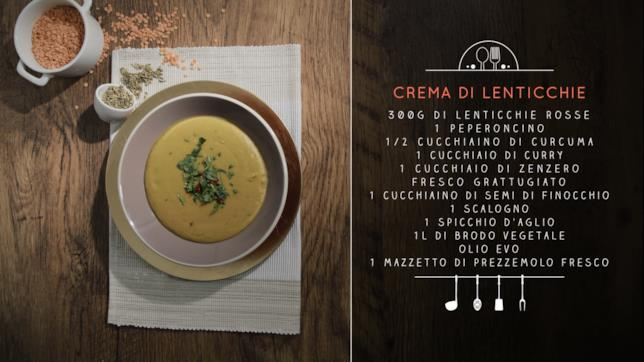 Ricetta crema di lenticchie