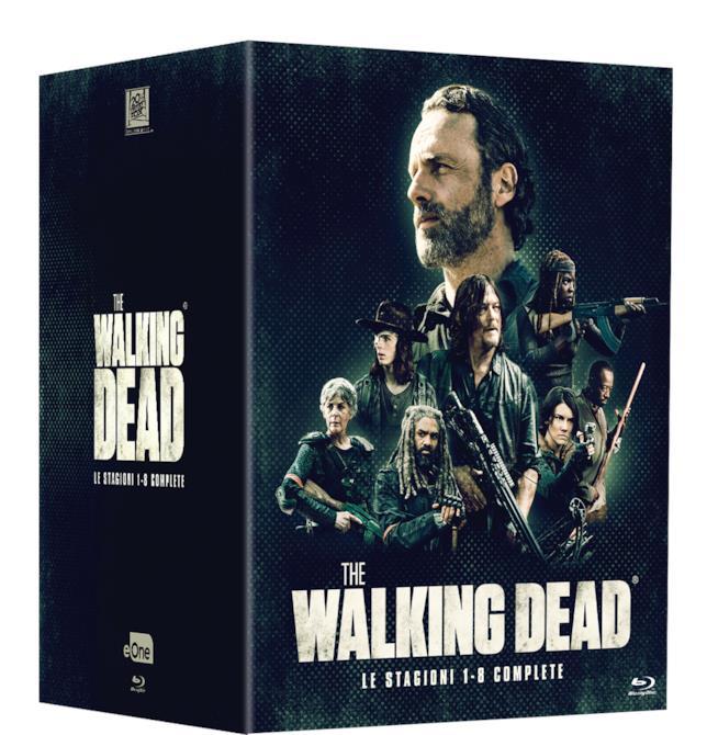 The Walking Dead: il cofanetto con le prime 8 stagioni