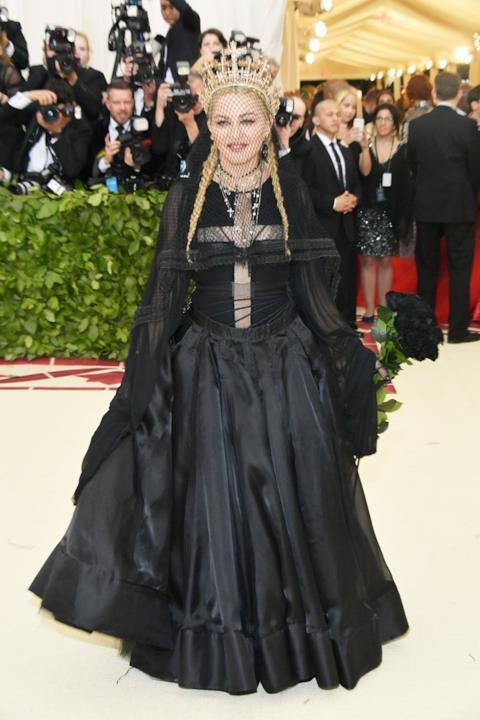 Il look di Madonna al MET Gala 2018