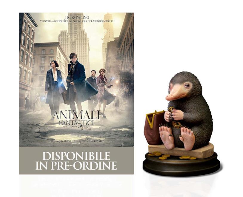 La Statuetta dello Snaso per l'edizione speciale di Animali Fantastici e Dove Trovarli