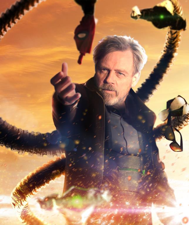 Mark Hamill è il Dottor Octopus in un poster fanmade