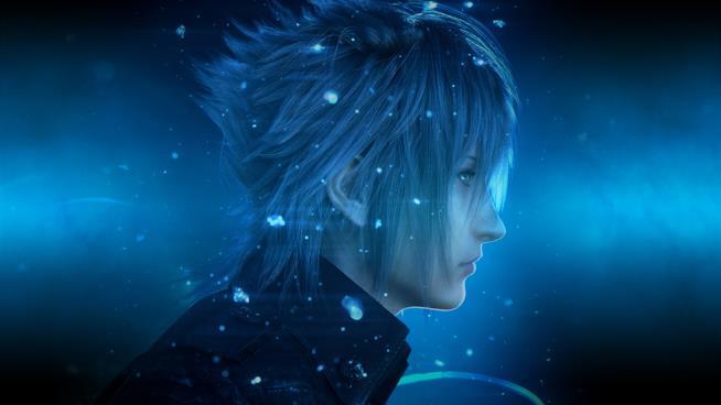 Un ritratto di Noctis, protagonista di Final Fantasy XV