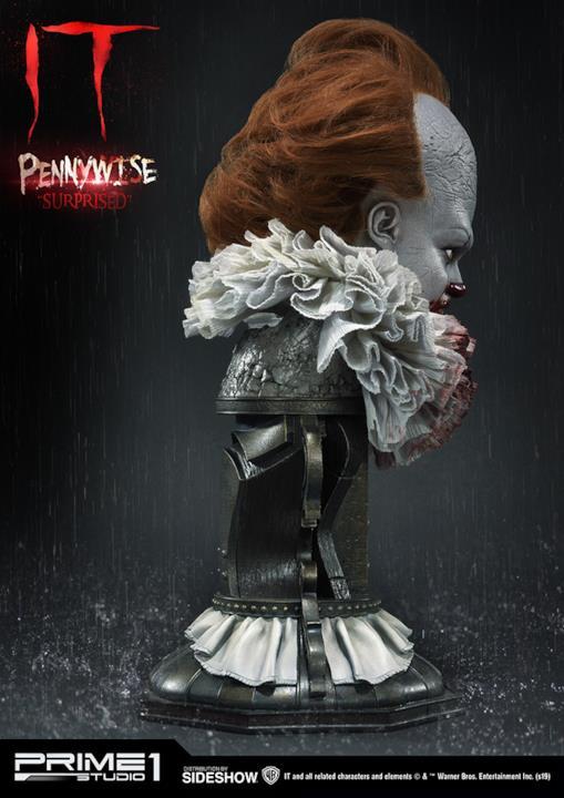 Profilo destro Pennywise Surprised