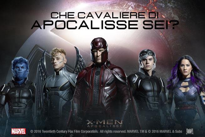 Il nuovo poster di X-Men: Apocalisse