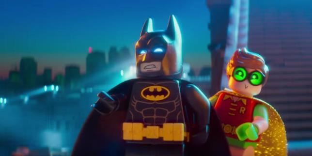 Batman e Robin in versione LEGO