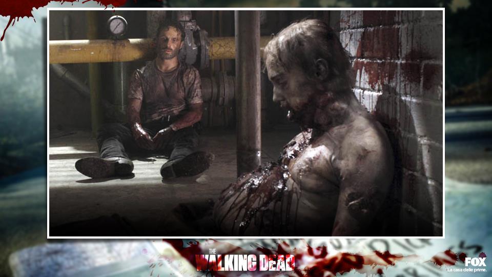 10. Lo zombie che ha mangiato i resti di Lori (sì, anche se non era uno dei personaggi più amati di TWD).