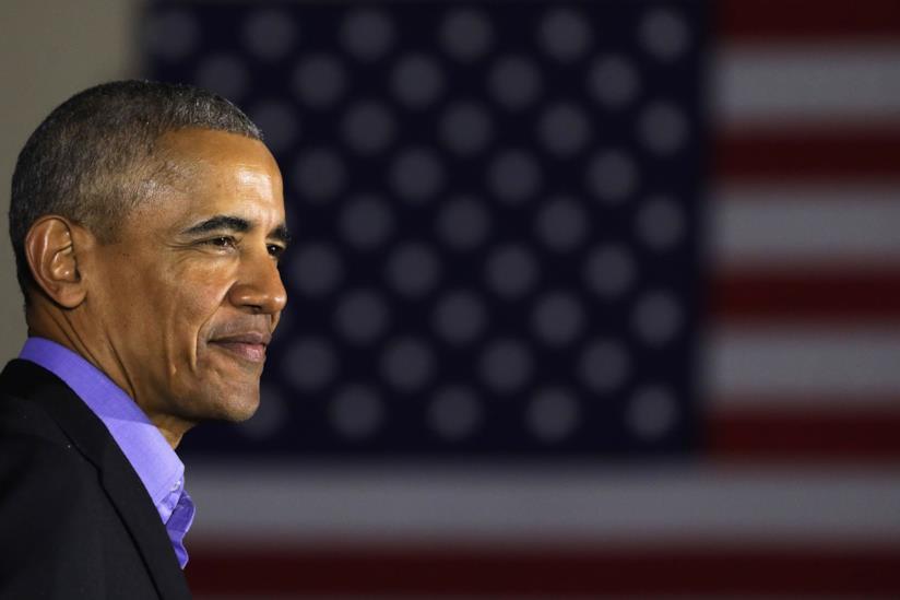 Barack Obama sorridente