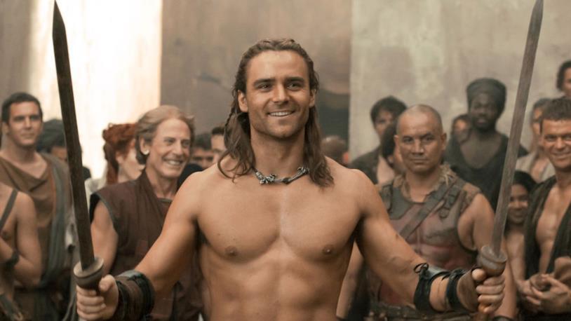 Dustin Clare in Spartacus