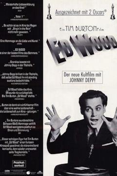 La locandina tedesca di Ed Wood