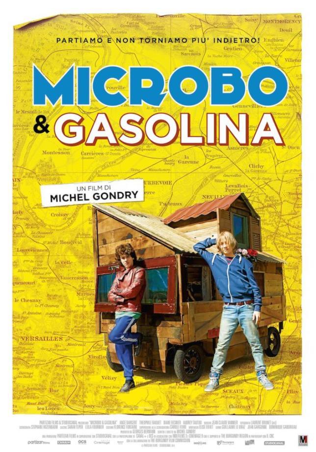 Poster di Microbo e Gasolina di Michel Gondry