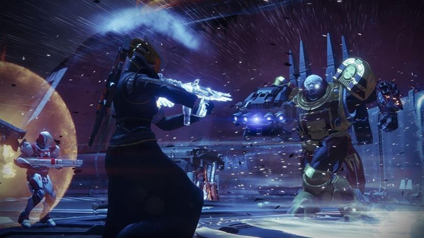 Guardiani in battaglia in Destiny 2