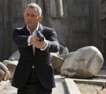 Daniel Craig in una scena di Skyfall