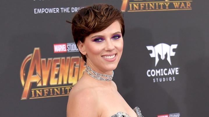 Scarlett Johansson alla prima di Avengers: Infinity War