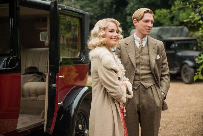 Domhnall Gleeson e Margot Robbie