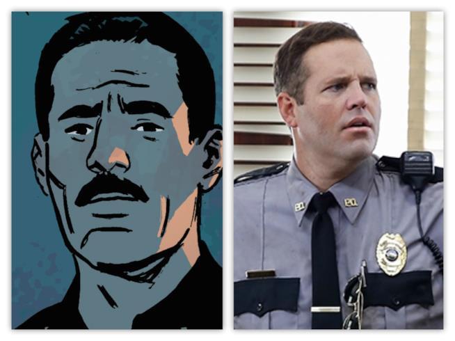 Mark Holter fra fumetto e serie TV