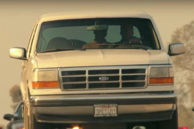 La fuga di O.J. Simpson sulla Bronco bianca
