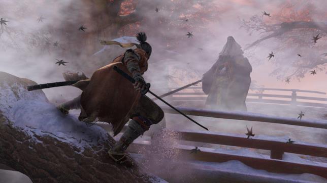 Un'immagine di gioco da Sekiro