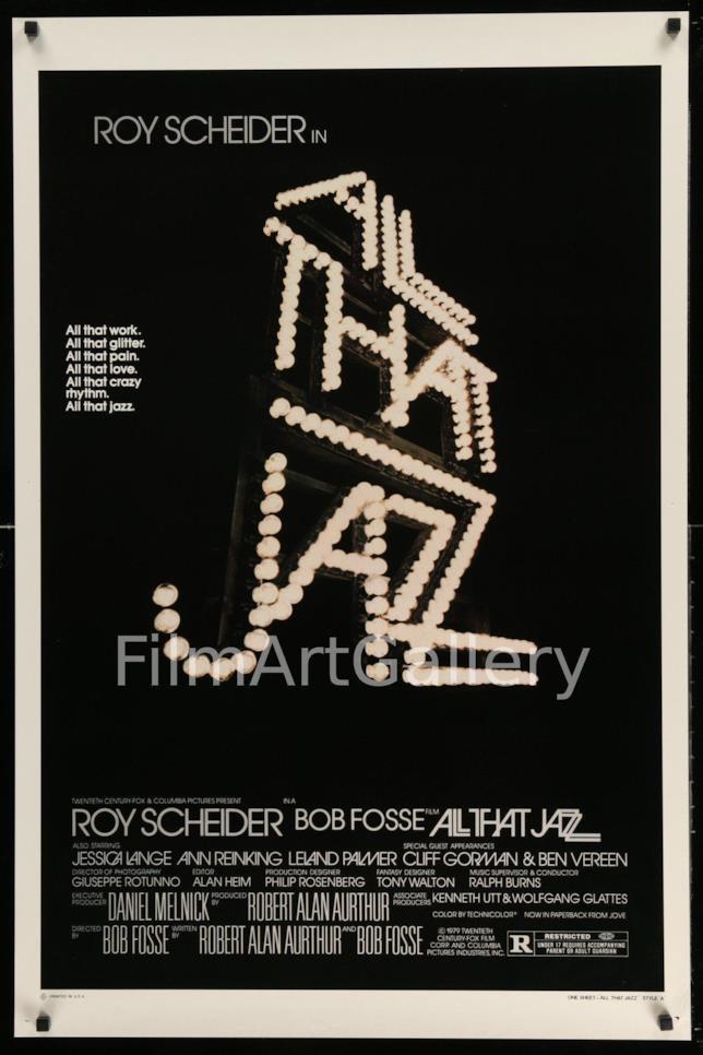 All That Jazz: La locandina originale