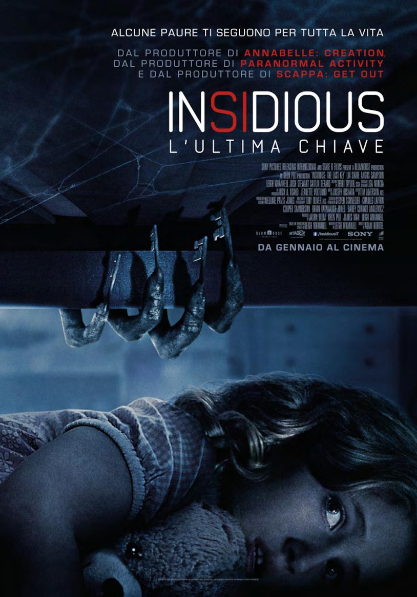 Insidious: L'Ultima Chiave poster