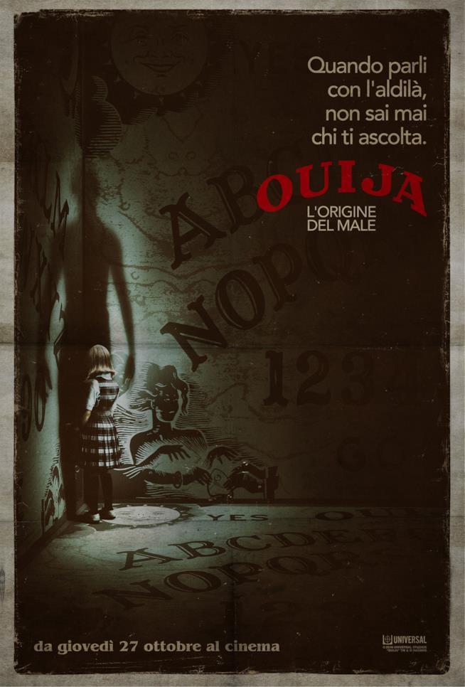 Ouija Le Origini del Male poste italiano