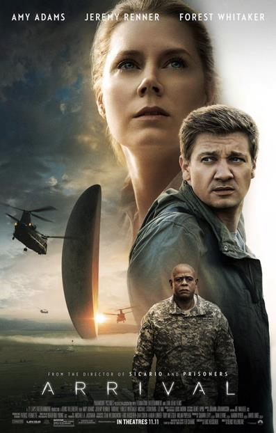 Il poster di Arrival, in uscita in USA a novembre