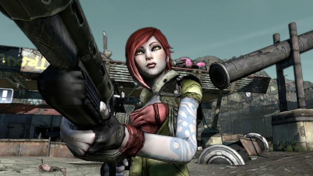 Lilith in un'immagine di gioco da Borderlands