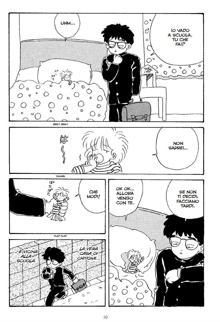 Minami e Chiyomi vanno a scuola