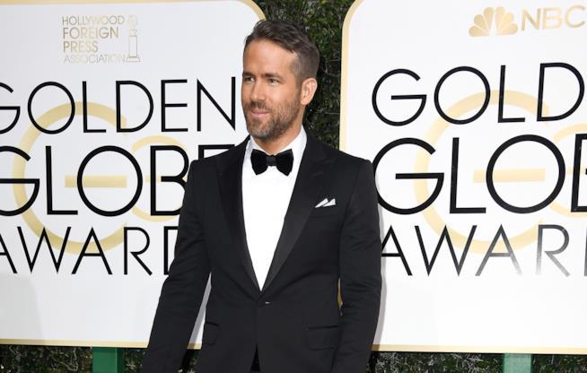 Ryan Reynolds ai Golden Globes 2017