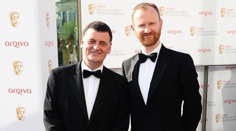 Moffat e Gatiss sul red carpet