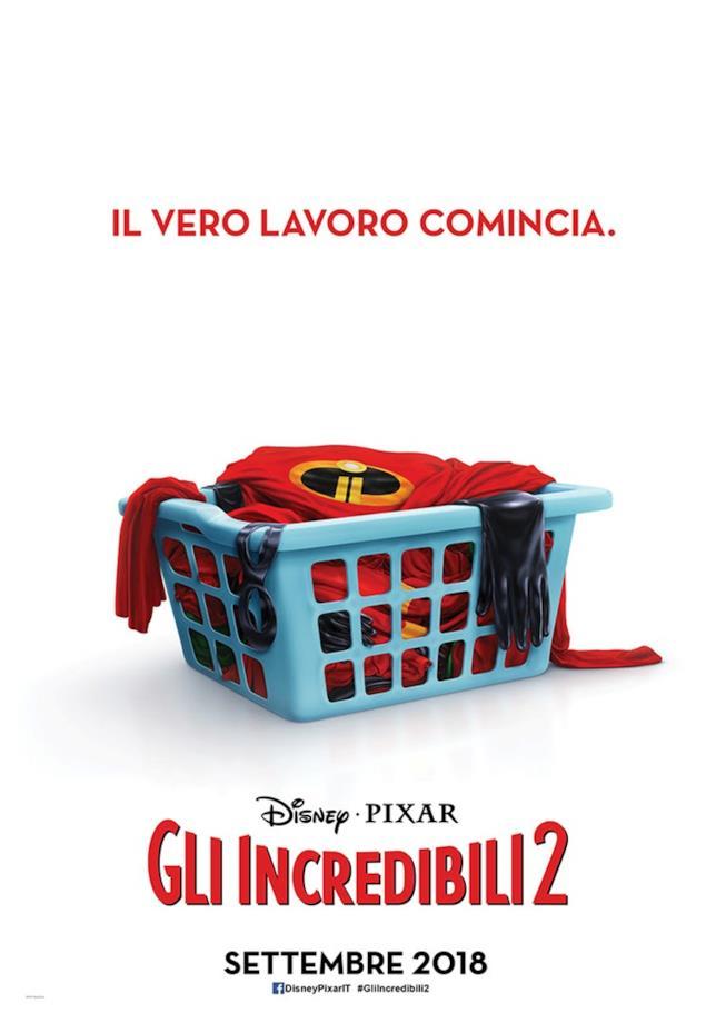 Gli Incredibili 2 poster 1