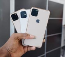 Unità dummy dei nuovi iPhone (2019)