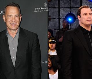 Tom Hanks e John Travolta insieme in una foto